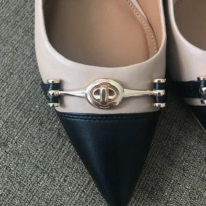 24281add2088 Coach Shoes - NWT Coach Lauri Beechwood Black Pointed Toe Pumps